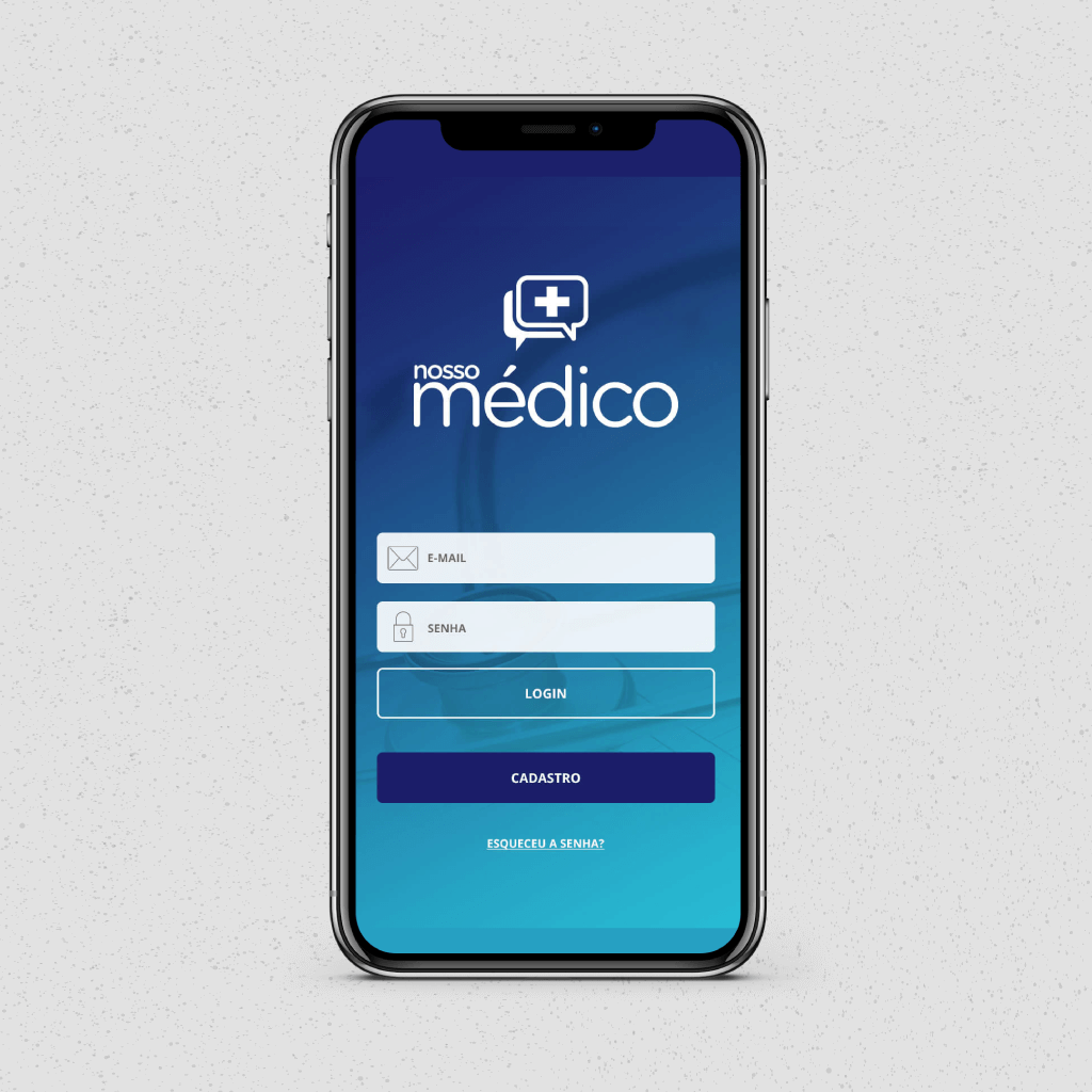 meu medico ux ui design project