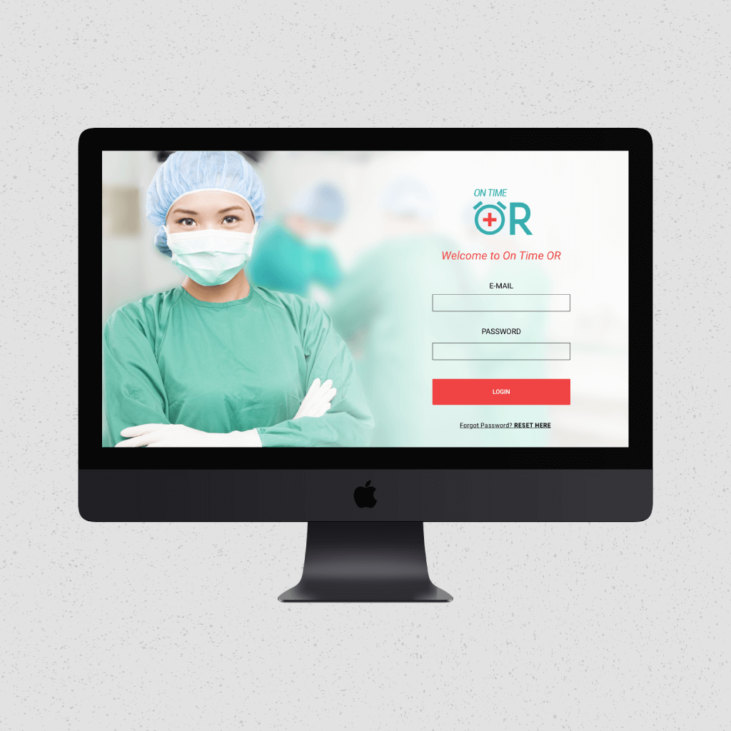 portfolio ux ui design emergency room