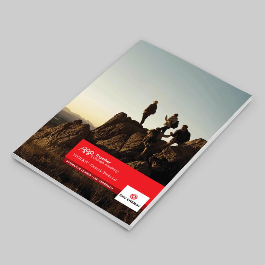graphic design booklet